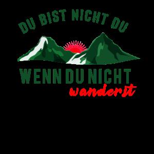 Wandern shirt • berge shirt • Wandern Geschenk