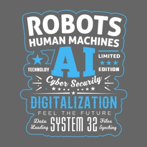 Robots Human Machine Ai Cyber Security