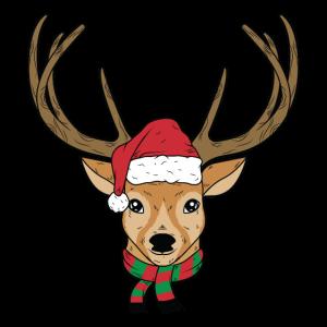 Weihnachts Rentier Hirsch