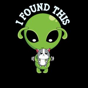 Katze Alien