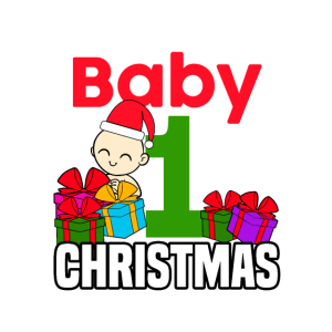 Erstes Weihnachten für Baby