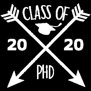 Class of 2020 Phd Abschluss Geschenk