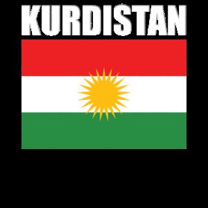 Kurdistan Flagge Kurdische Fahne Vintage Kurden