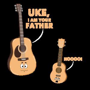 Musik - Shirt Gitarre Ukulele Geschenk