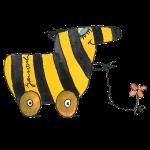 Janosch - Tigerente mit Blume SP