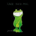 Janosch - Frosch 'Lach doch mal' SP