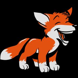 Fuchs lachen süss