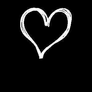 heart simple drawing cute valentine kawaii