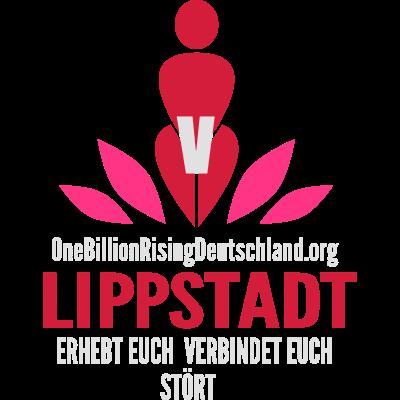 OBR-Logo  Lippstadt_dunkler_hintergrund - one billion Rising Städtelogo Lippstadt -