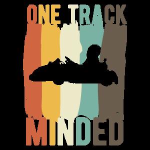 Go Kart Fahrer One Track Mind