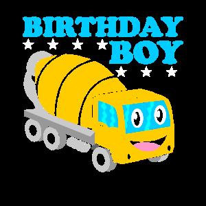 Geburtstagssjunge Geburtstag Junge Zementmischer