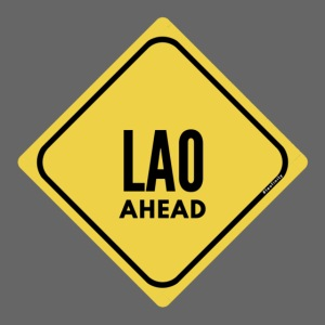 Be careful, a laotian in front!