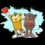 Janosch - Tiger und Bär 'Liebe, sonst nichts' SP