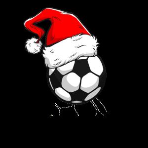 Fußball Fussball Mütze Weihnachten