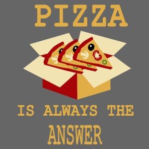 La pizza è sempre la risposta