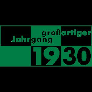 Großartiger Jahrgang 1930 geboren