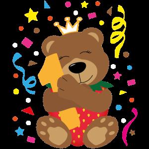 Erdbärchen Prinzessin 1. Geburtstag Geschenk
