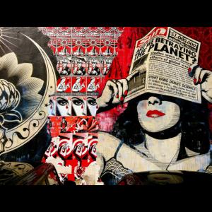 Graffiti Black&Red