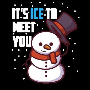 Ice To Meet You Schneemann