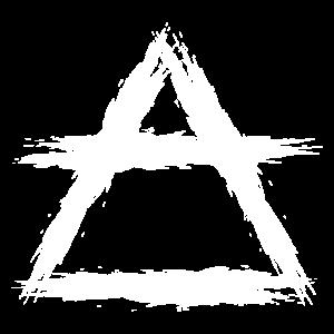 Element Symbol Luft weiß
