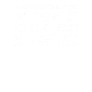 Dancing With The Feel Is One Thing But Dancing Wi