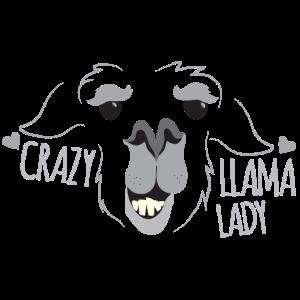 Verrückte Lamadame