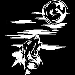 wolf wulf pack rudel jaulen heulen symbol