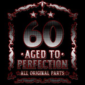 60. Geburtstag - 60 Jahre Alt Geschenk für Papa