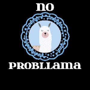 Lama-Liebhaber und Alpaka-Liebhaber-Geschenk kein Probllama