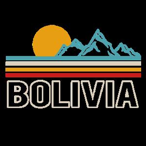 bolivien retro berge