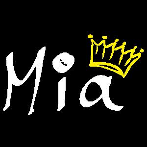 Mia mit Krone als Geschenkidee