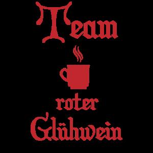 Team roter Gluehwein