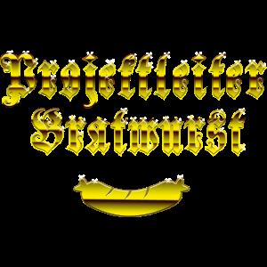 Projektleiter Bratwurst, gold