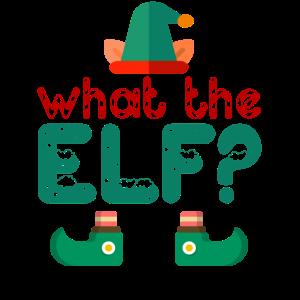 What The Elf - Lustiges Weihnachtswortspiel