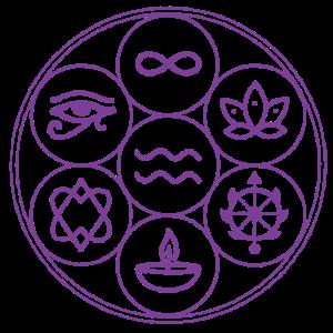 Sat Cit Ananada violet