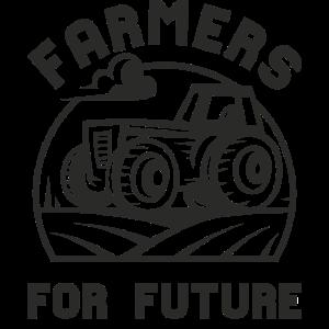 FARMERS FOR FUTURE. Traktor. Landwirt.