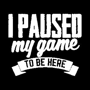 Gamer Pause Spiel nerd computer