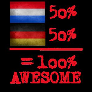 halb niederländisch holländisch deutsch 50%