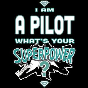 Ich bin ein Pilot Was ist deine Supermacht?