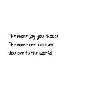 the more joy txt