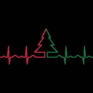 Heartbeat Christmas Tree