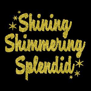 Glitzer-Shining- Geschenk Idee