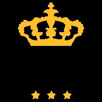 sterne king krone könig freunde team logo member s