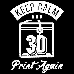 3D Druck Retro Design Lustiger Spruch 3D Print