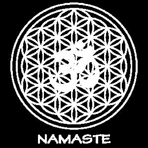 Yoga Meditation Blume des Lebens Namaste Geschenk