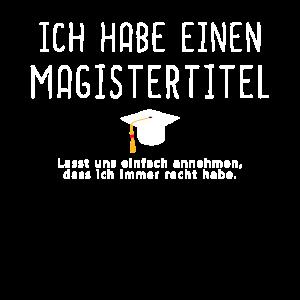 Sponsionshut Motiv Sponsion Magister Hut Geschenk