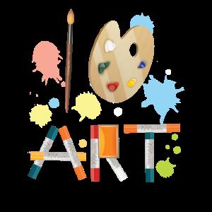 Ich Liebe Kunst Künstler Farben Malen Maler