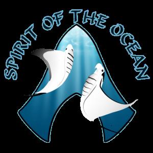 White Giant Manta Dance Spirit of the Ocean