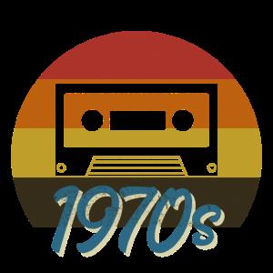 1970s VINTAGE RETRO 70er Jahre Musik Kassette