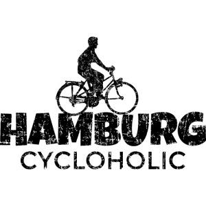 Hamburg Cycloholic (Vintage/Schwarz) Fahrradfahrer